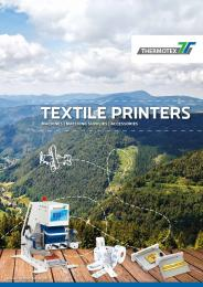 Flyer Textilprinter GB